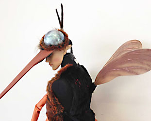 mosquito bug costume outfit mask adults Halloween