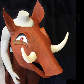 pumbaa lion king jr costume sale