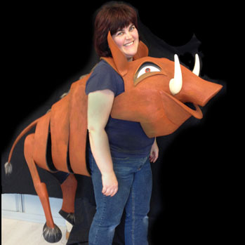 pumbaa child adult lion king jr costume buy