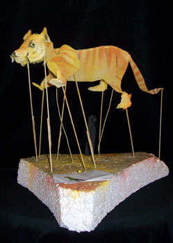 tiger giant puppet model makers jungle book shere khan