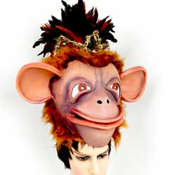 monkey king jungle book hat mask buy adult child Tentacle Studio