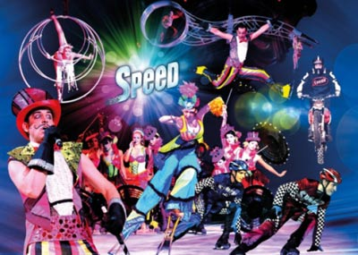 Speed Holiday Ice dance costume props maker