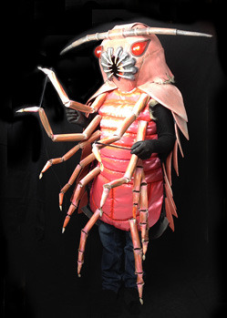 giant isopod insect bug costume maker