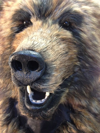 realistic brown bear head mask costume for sale Tentacle Studio