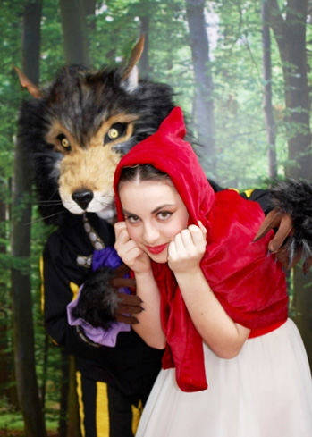 wolf head mas khat red riding hood Tentacle Studio